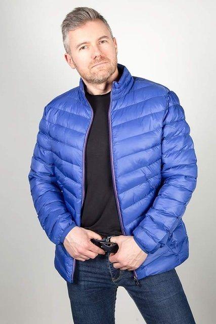 Kurtka męska J.Style niebieski