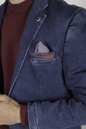 Marynarka męska jeansowa 250