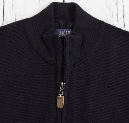 Sweter męski klasyczny Laid-Back 1237 Granatowy
